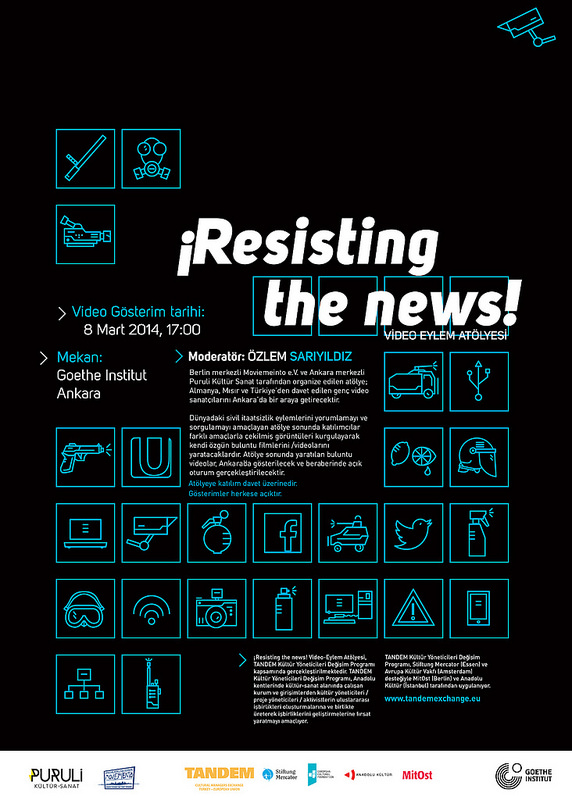 ¡Resisting the news! Video-Eylem Atölyesi 1