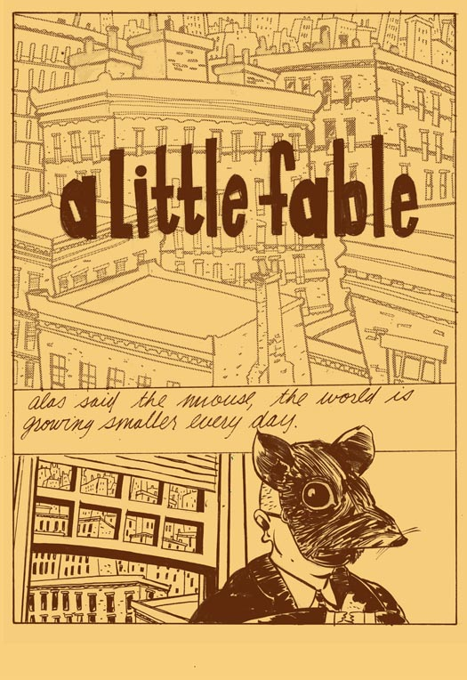 A Little Fable [Franz Kafka] by Vincent Stall 3