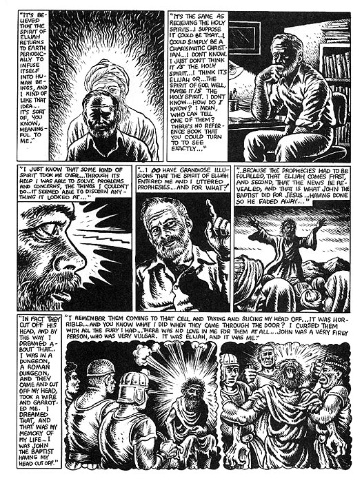 The Religious Experience of Philip K. Dick by R. Crumb from Weirdo #17 7