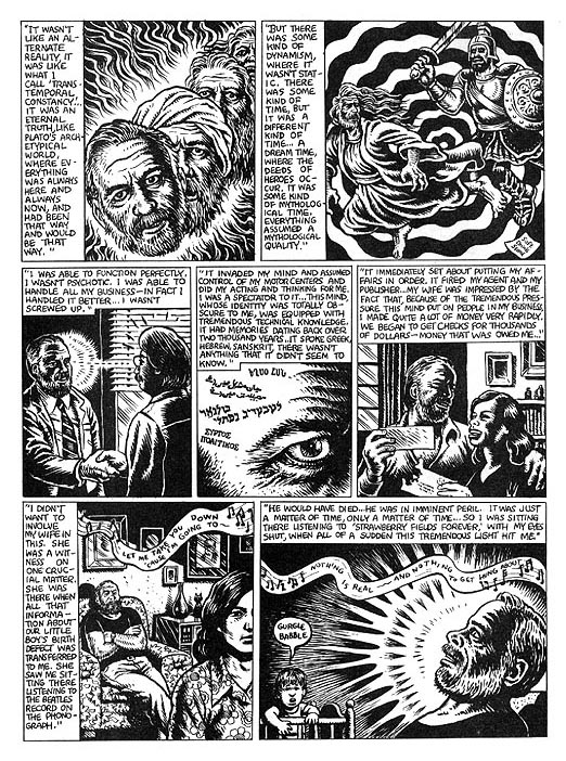 The Religious Experience of Philip K. Dick by R. Crumb from Weirdo #17 3